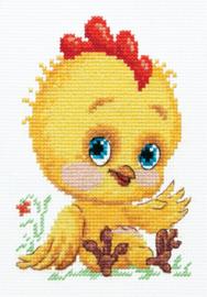 Borduurpakket Chick - Chudo Igla