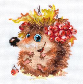 Borduurpakket Autumn Hedgehog - Alisa