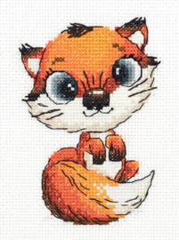 Borduurpakket Abby the Fox - PANNA