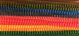 Chenille Set - Stripes - Kleuren mix