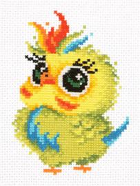 Borduurpakket Parrot - Chudo Igla
