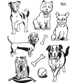 Clear Stamp Honden