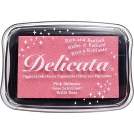 Delicata inktkussen Pink Shimmer