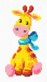 Borduurpakket Giraffe - Chudo Igla