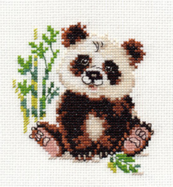 Borduurpakket Panda - Alisa