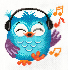 Borduurpakket Owlet - Chudo Igla