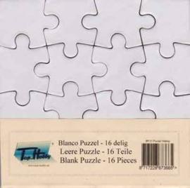Blanco Puzzel - 16 Delig