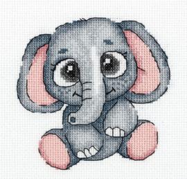 Borduurpakket Lola the Elephant