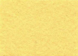 Viltlapjes viscose lichtgeel (10vel) 20x30cm - 1mm
