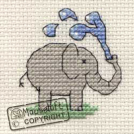 Borduurpakket Playful Elephant - Mouseloft