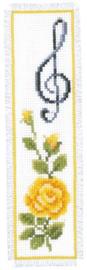 Bladwijzer kit Roos met solsleutel