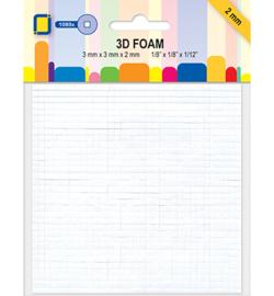 3D Foam Dots Mini Squares
