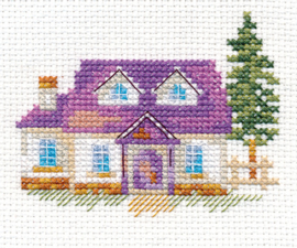 Borduurpakket House on the Hill - Alisa