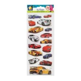 Stickervel Auto's