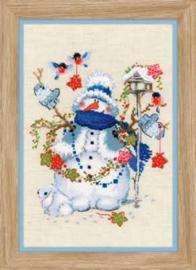 Borduurpakket Christmas Eve - RIOLIS