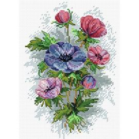 Borduurpakket Spring Flowers - mp studia