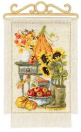 Borduurpakket Cottage Garden - Autumn - Riolis