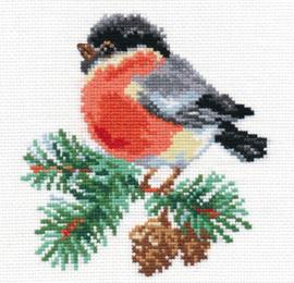 Borduurpakket Bullfinch - Alisa