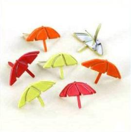 Paraplu Splitpennen - Rood, Groen, Oranje