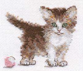 Borduurpakket Little Kitty - Alisa