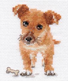 Borduurpakket Puppy - Alisa
