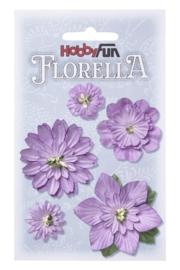 Papieren Bloemen Lavendel