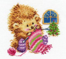 Borduurpakket I won't tell for whom I knit! - Alisa