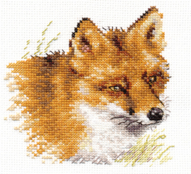 Borduurpakket Fox - Alisa