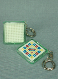 Plexiglas sleutelhanger Vierkant - The Stitch Company