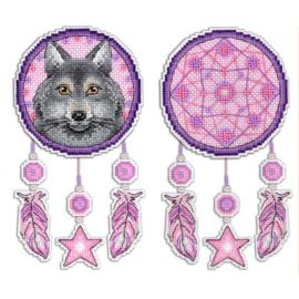 Borduurpakket Dromenvanger Wolf
