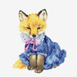 Borduurpakket The Fox - Luca-S