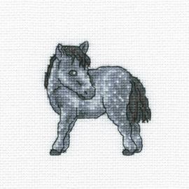 Borduurpakket Dappled Horse - RTO