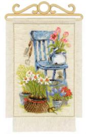 Borduurpakket Cottage Garden  - Spring - Riolis
