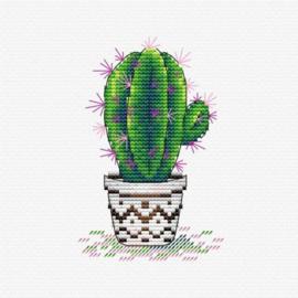 Borduurpakket Fresh Cactus - mp studia