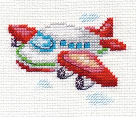 Borduurpakket Little Airplane - Alisa