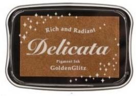 Delicata inktkussen Metallic Golden Glitz