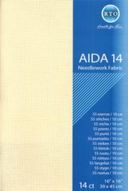 Borduurstof Aida 14 count - Ecru - RTO