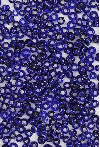 Borduurkraal Donkerblauw 3mm - 242