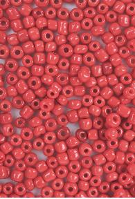 Borduurkraal Roodbruin 3mm - 245