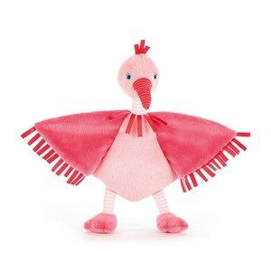 Knuffeldoekje Flamingo