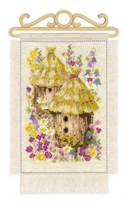 Borduurpakket Cottage Garden - Summer - Riolis