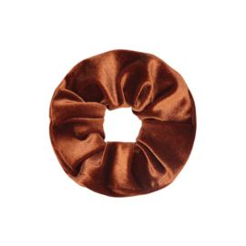 Scrunchie Sweet Velvet - bruin