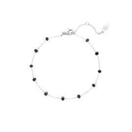 Uptown Beads - zwart & zilver