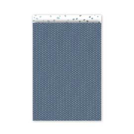 Connecting Dots - mint/diepblauw/wit