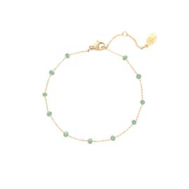 Uptown Beads - groen & goud