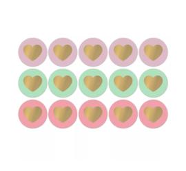 Lovely Hearts – fresh sorbet - 10 stuks