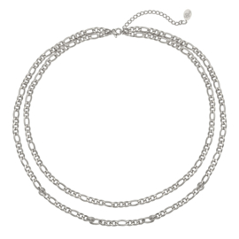 Ketting Who that Girl - zilver