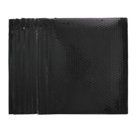 Bubbeltjes envelop - zwart - 40x34cm per stuk