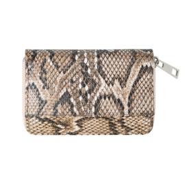 Wallet Sassy Snake - beige