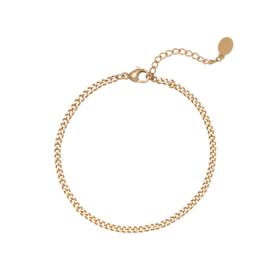 Armband Tiny Plain Chains - goud
